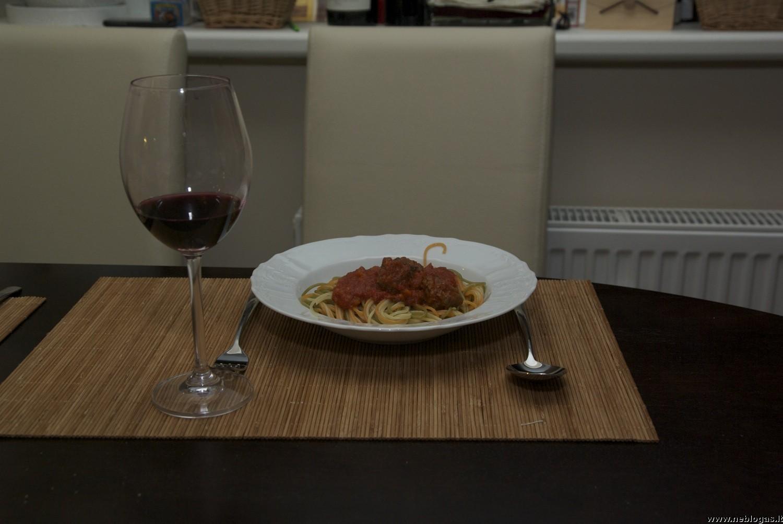Polpette con Spaghetti