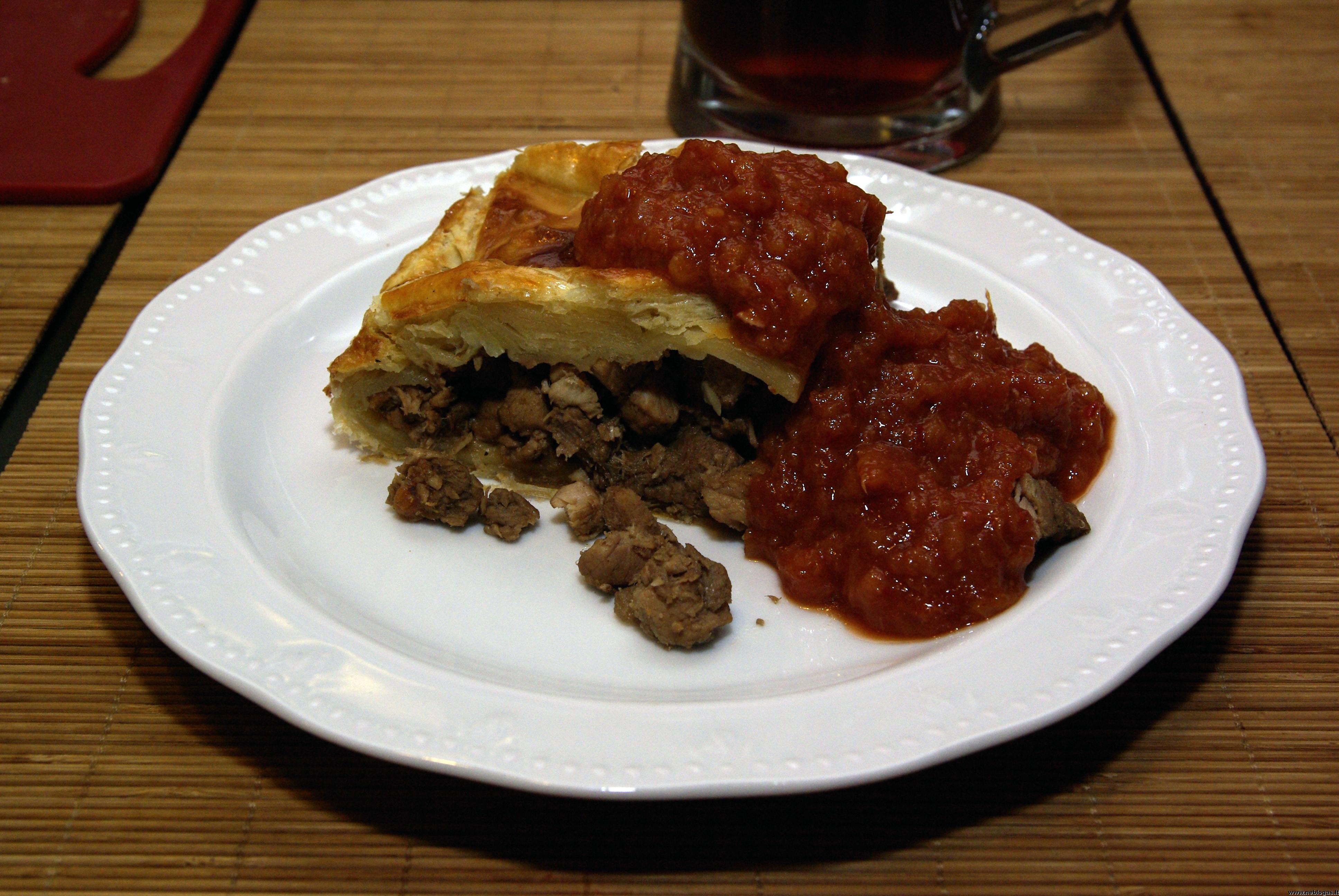 Kanadietiškas mėsos pyragas – Tourtiere