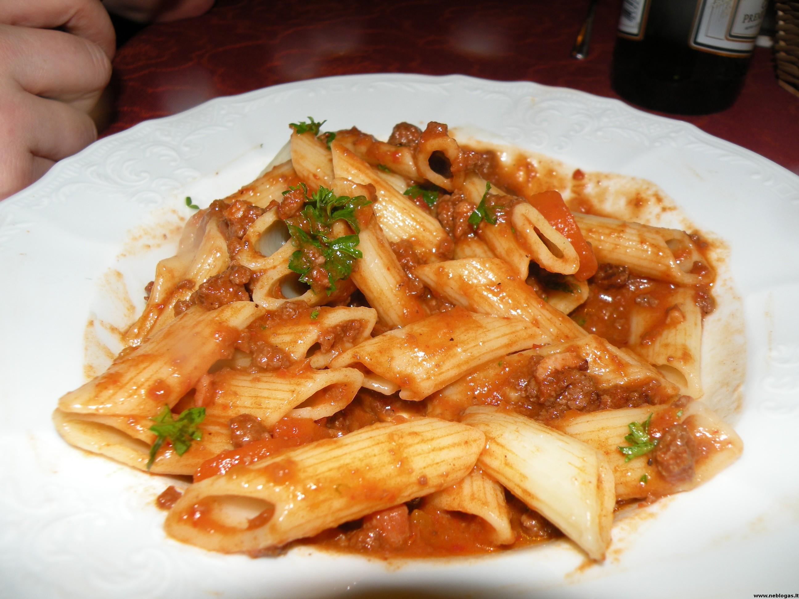 Itališkas ragu arba Bolonijos padažas